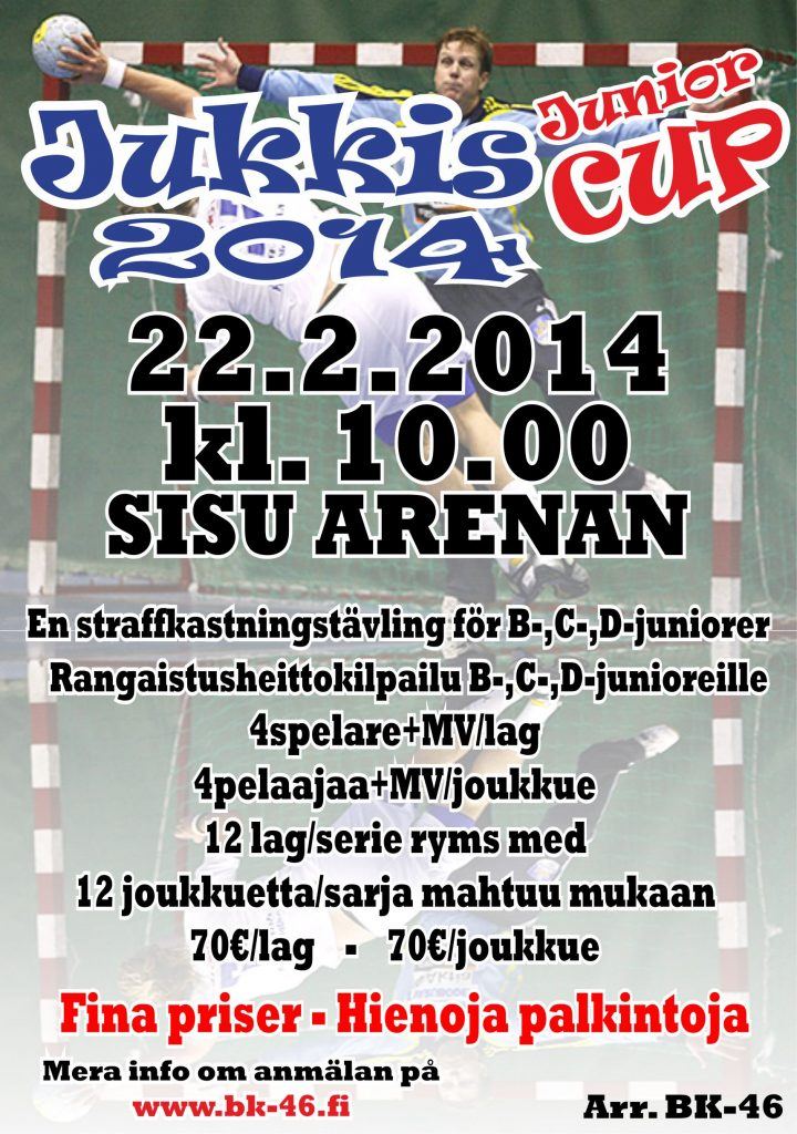 Jukkis Junior Cup 2014